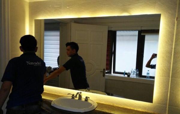 Gương nhà tắm tphcm