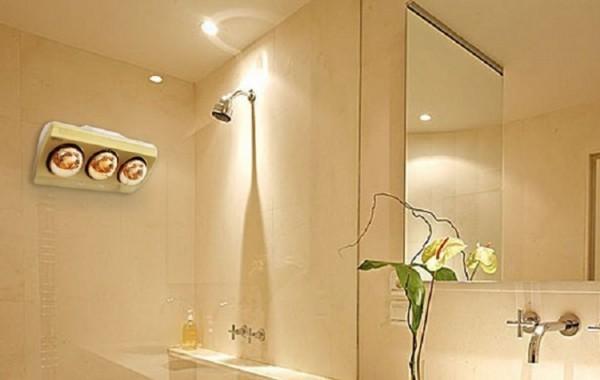Nên chọn đèn sưởi nhà tắm như thế nào?