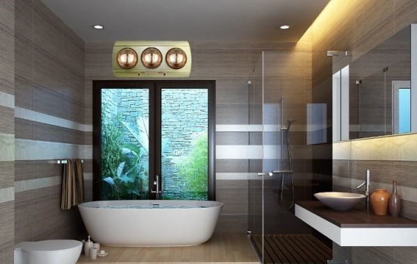Sản xuất đèn sưởi phòng tắm vào mùa đông