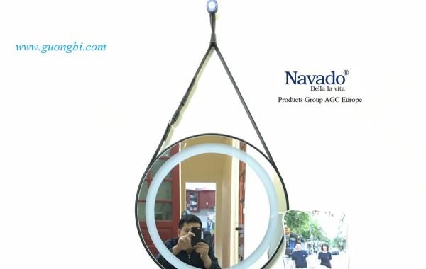 Gương tròn treo tường - Xu hướng gương trang trí nội thất của thời đại
