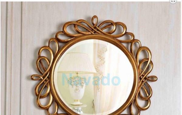 Gương treo tường phong cách cổ điển