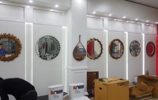 Gương trang trí nội thất navado đẹp với kiểu dáng đa dạng trên thị trường