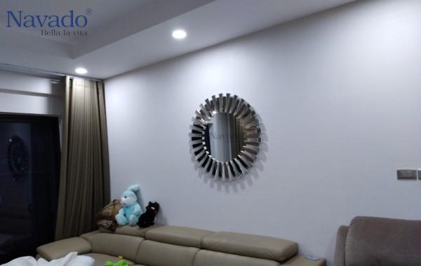Gương trang trí nội thất phòng khách