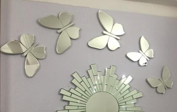 Gương trang trí cho nội thất ngôi nhà thêm sang trọng và hiện đại