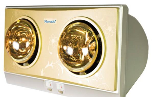 5 tác dụng đèn sưởi phòng tắm mùa đông