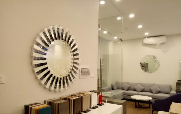 Gương phòng khách đẹp