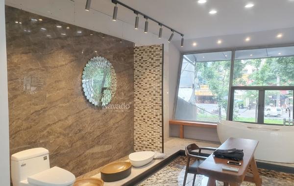 10 mẫu gương trang trí phòng khách sang chảnh