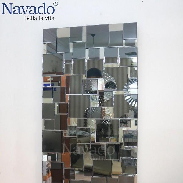 Gương ghép trang trí dán tường cao cấp