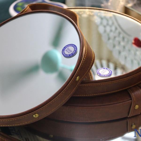 Gương bàn phấn dây da 60 cm