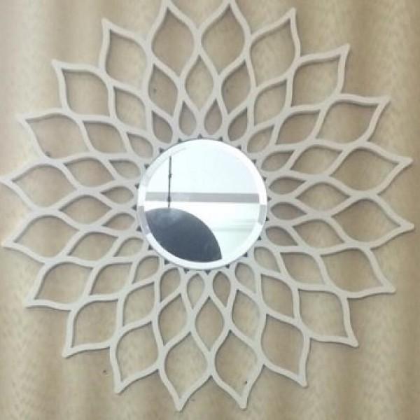 Gương nghệ thuật hoa Gerbera