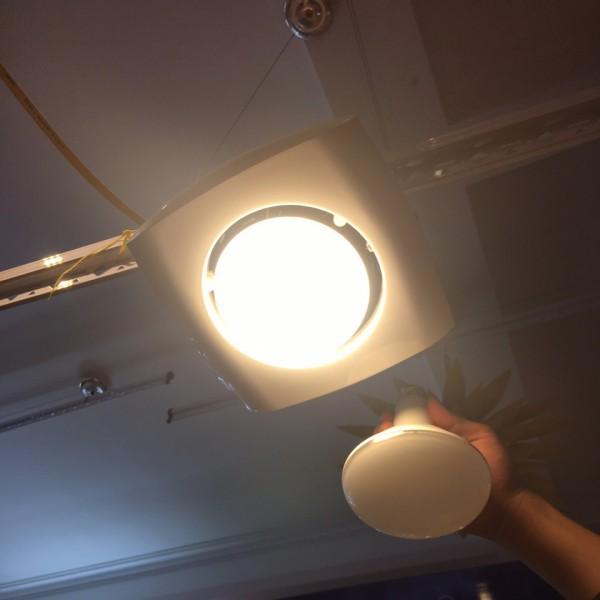 Đèn sưởi phòng tắm âm trần 1 bóng