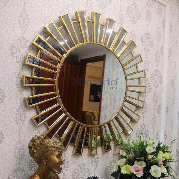 Gương nghệ thuật phòng khách Athena