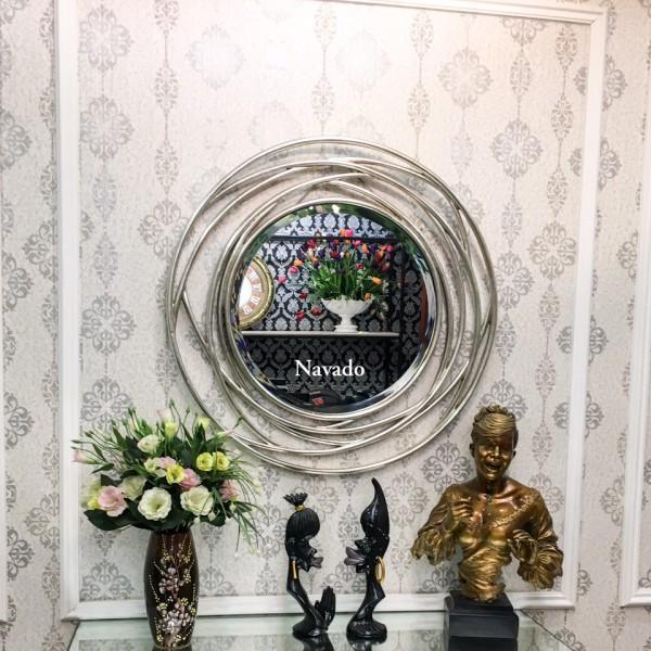 Gương tân cổ điển Julia (Silver)