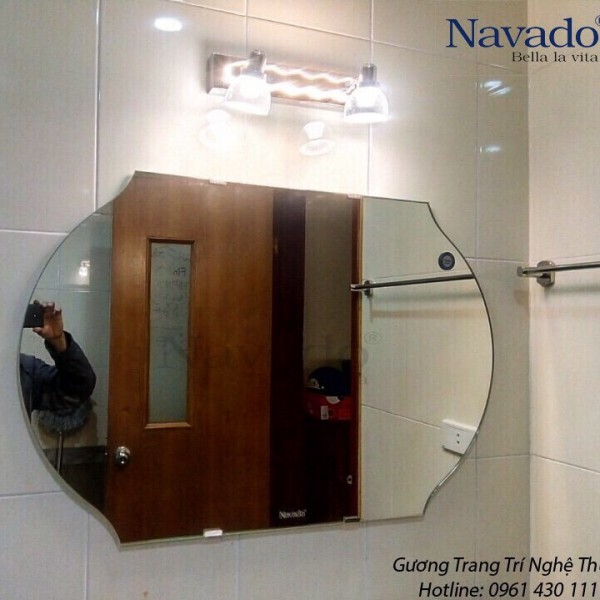 Gương phòng tắm nghệ thuật 116D