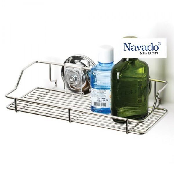 Kệ inox tiện ích phòng tắm GS-3017