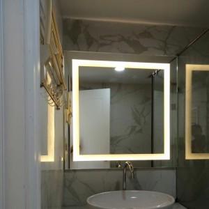 Gương đèn led vuông theo kích thước