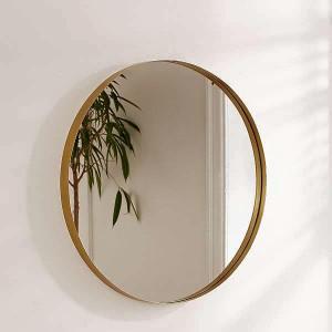 Gương sảnh viền kim loại tròn oras 60cm