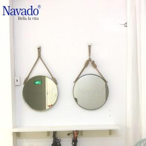Gương treo dây thừng navado 60cm