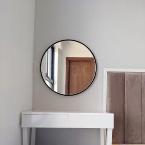 Gương Tròn Vành Thép Mạ Optima 50cm