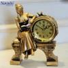 Đồng hồ trang trí Cô gái đọc sách