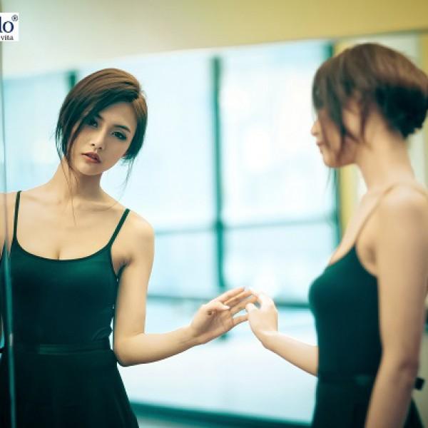 Cắt gương cho phòng tập múa
