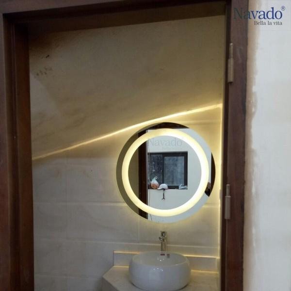 Gương nhà tắm đèn led