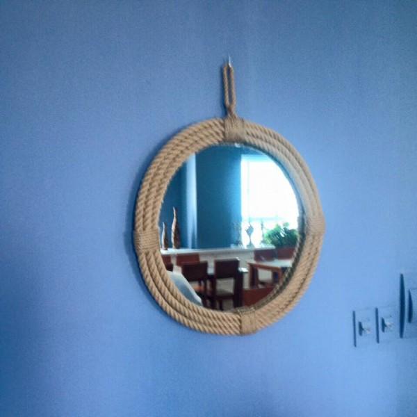 Gương dây thừng 60cm