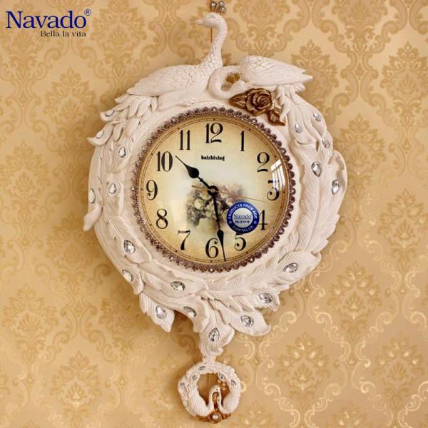 Đồng hồ treo tường Uyên ương Công
