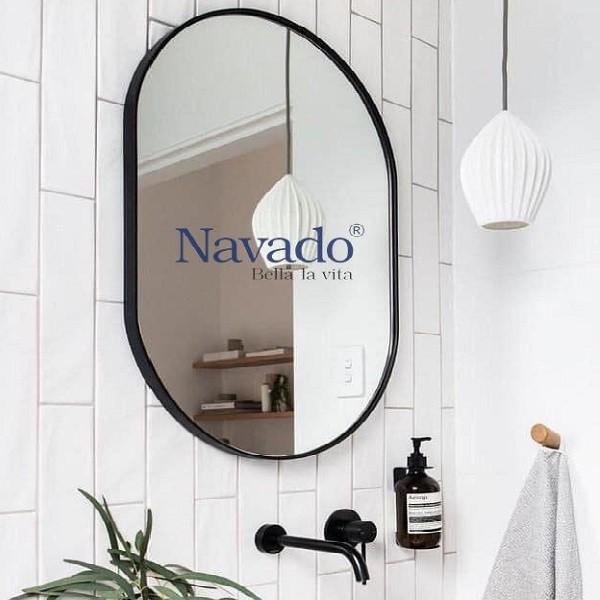 Gương bầu dục phòng tắm