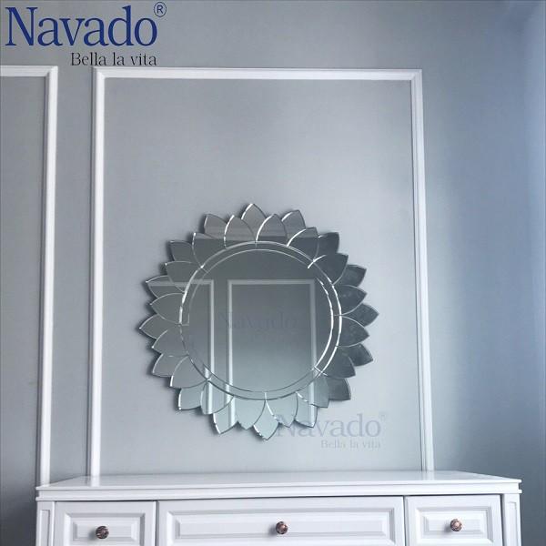 Gương bàn trang điểm hiện đại Sunflower