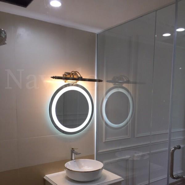 Gương đèn led treo tường phòng tắm