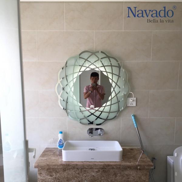 Gương phòng tắm bỉ dantalux