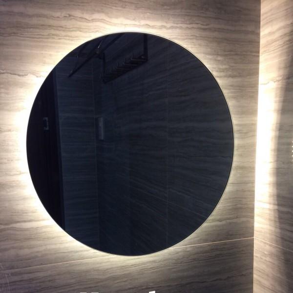 Gương tròn đèn led hắt sáng