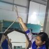 Gương bát giác 68cm