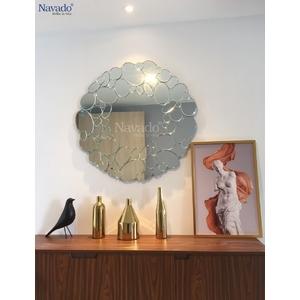 Gương trang trí nội thất phòng khách Queen