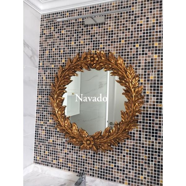 Gương treo tường cao cấp trang trí Navado