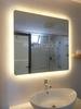 Gương đèn led cảm ứng bo hai góc
