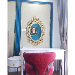Gương tân cổ điển phòng tắm Zeus