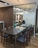 Gương nghệ thuật ghép tường phòng ăn