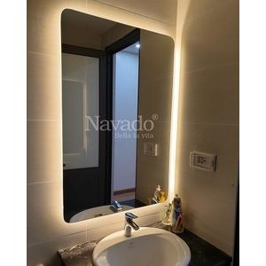 Gương đèn led phòng tắm hắt sáng