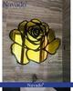 Gương treo tường hoa hồng Gold