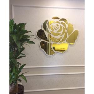 Gương trang trí Rose nghệ thuật phòng khách