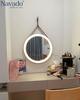 Gương dây da đèn led cảm ứng 50cm