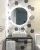 Gương đèn led trắng cho phòng tắm