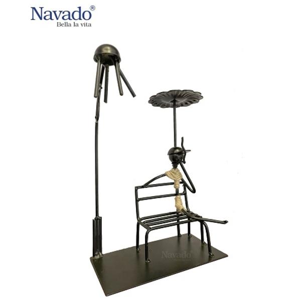 Đồ sắt trang trí nghệ sĩ tài ba Navado