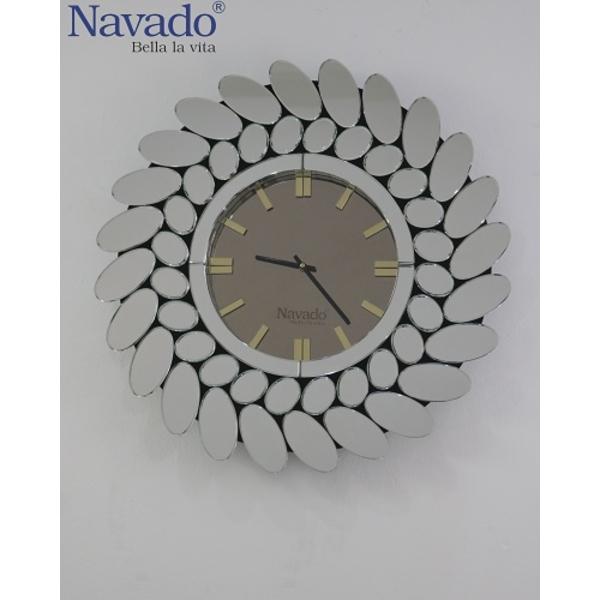 Đồng hồ decor hiện đại Casablanca