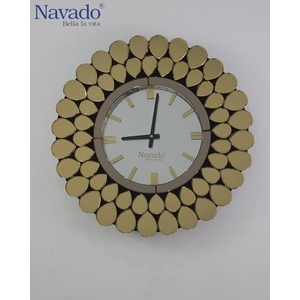 Đồng hồ nghệ thuật treo tường Gold Peacock