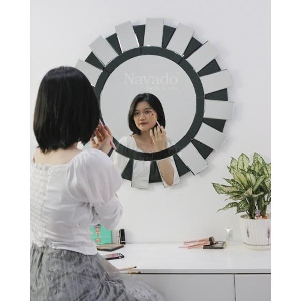 Gương bàn trang điểm treo tường Sarah