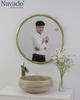 Gương phòng tắm cao cấp Inox ống