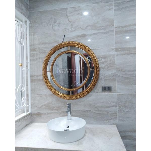 Gương phòng tắm treo tường cổ điển Aura